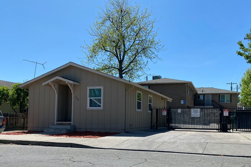 Housing Authority County of San Joaquin property at 719 S. Washington Street, Lodi, CA